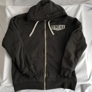 O'Neill Zip Up Fleece Lined Hoodie Jacket